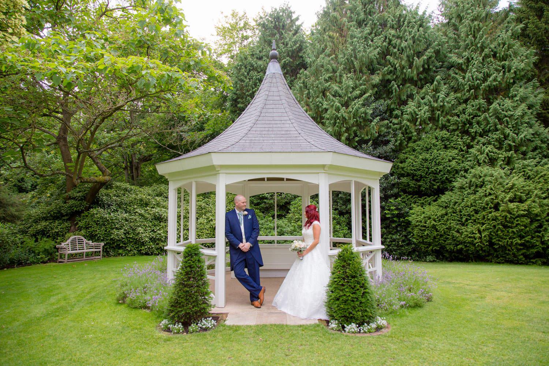 Bride and Groom - Wedding Garden